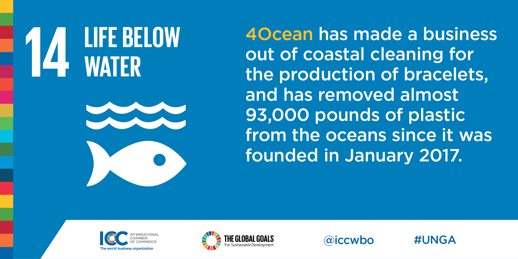 ICC Business Commits Plastic Pollution 4ocean
