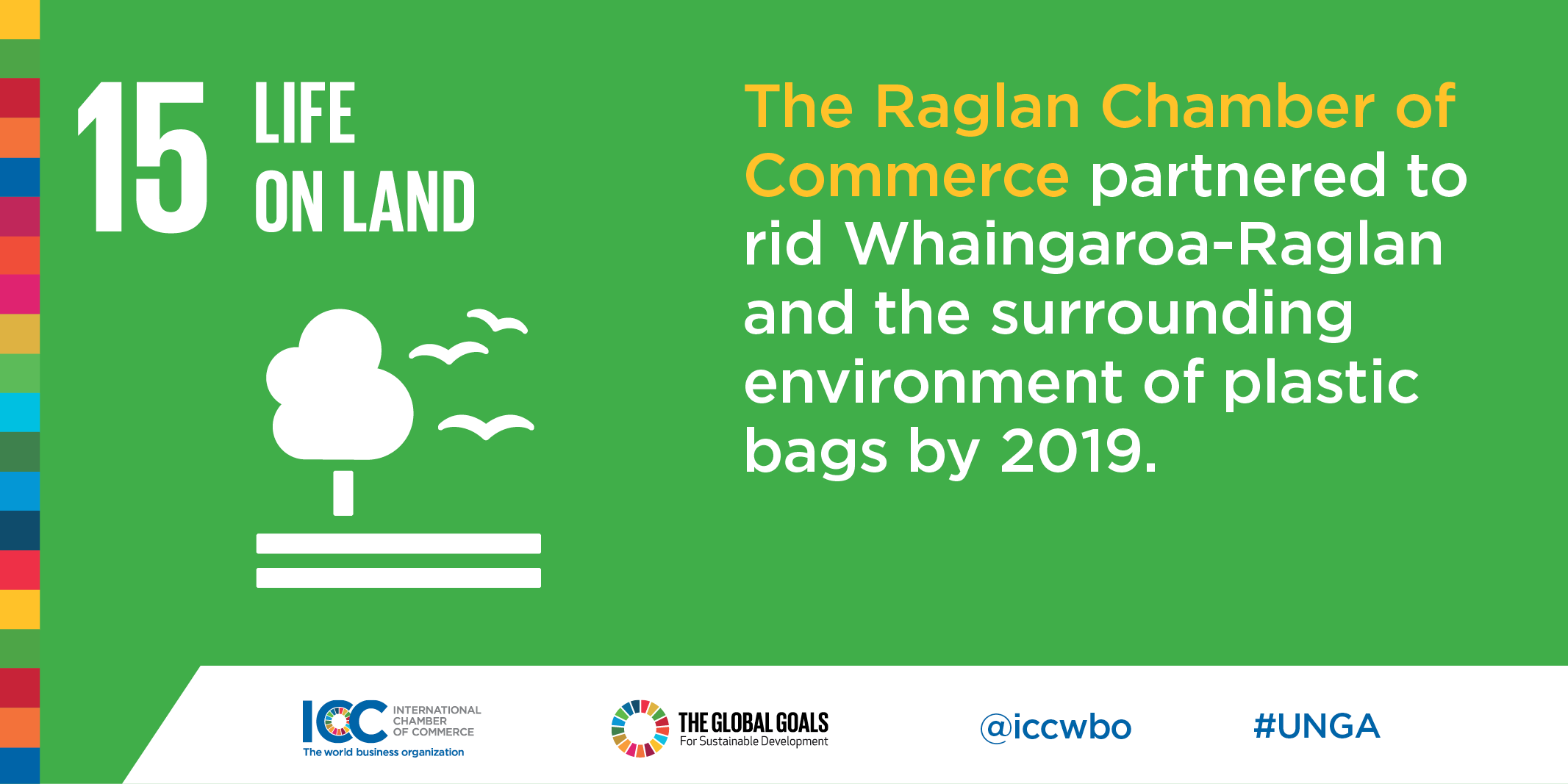 ICC Business Commits Plastic Pollution Raglan