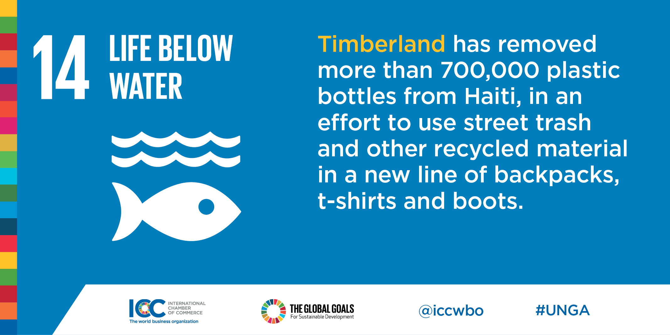 ICC Business Commits Plastic Pollution Timberland