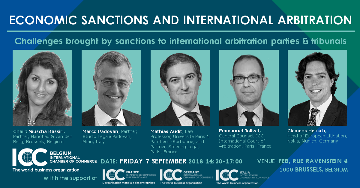 Icc Economic Sanctions International Arbitration